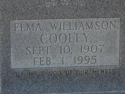 Elma <i>Williamson</i> Cooley