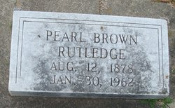Margaret Pearl <i>Brown</i> Rutledge