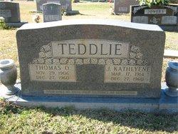 Jessie Kathleen <i>Melton</i> Teddlie
