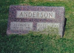 Hazel Annie <i>Gray</i> Anderson