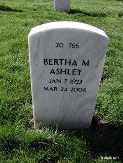 Bertha Mae <i>Callaway</i> Ashley