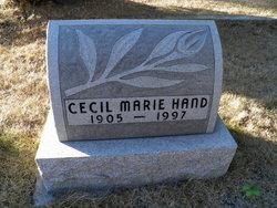 Cecil Marie <i>Reel</i> Hand