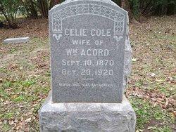Celia Ann Celie <i>Cole</i> Acord