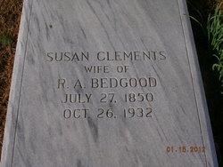 Susan <i>Clements</i> Bedgood