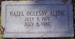 Hazel Mildred <i>Oglesby</i> Allen
