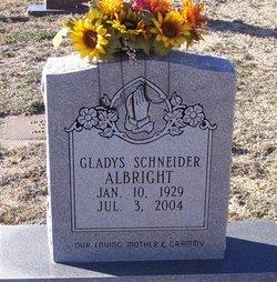 Gladys <i>Schneider</i> Albright