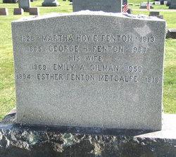 Martha Jane <i>Howe</i> Fenton