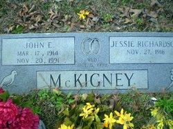 Jessie <i>Richardson</i> McKigney