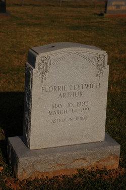 Florrie <i>Leftwich</i> Arthur