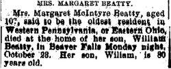 Margaret <i>McIntire</i> Beatty
