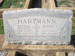 Bertha <i>Kunz</i> Hartmann