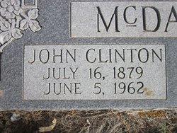 John Clinton McDaniel