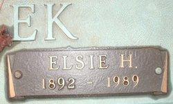 Elsie H Creek