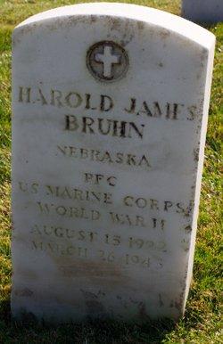 PFC Harold James Bruhn