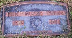 Janet <i>Gleave</i> Walden