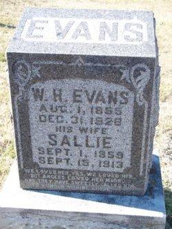 Sarah F Sallie <i>Masters</i> Evans