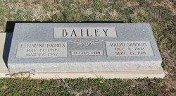Ralph Sanders Bailey, Sr