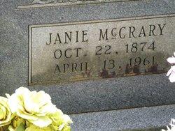Elitha Jane <i>McCrary</i> Hedgepeth