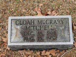 Cloah Ann <i>McCrary</i> Mitchell