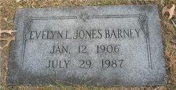 Evelyn L <i>Jones</i> Barney