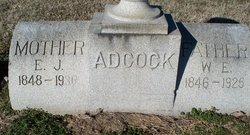 E J Adcock