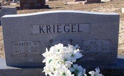 Herbert W Kriegel