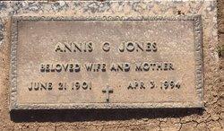 Annis G Jones