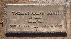 Thomas Ralph Jones