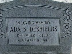 Ada B Deshields
