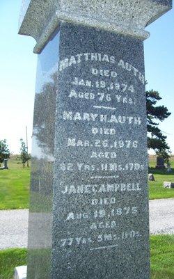Mary H Auth