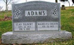 Clay Tolbert Adams