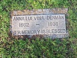 Anna Luevina <i>Ratcliff</i> Denman