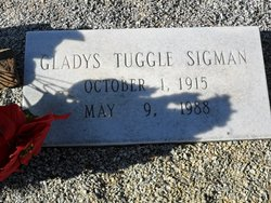 Gladys <i>Tuggle</i> Sigman