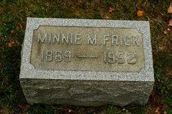 Minnie M. Frick