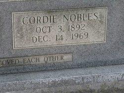 Cordie <i>Nobles</i> McCrary