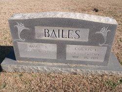 Mamie <i>Jones</i> Bailes
