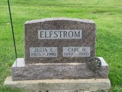 Julia Elizabeth <i>Adams</i> Elfstrom