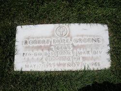 PFC Robert Earl Greene