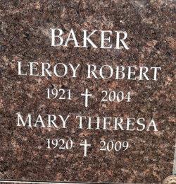 Mary Theresa <i>Snook</i> Baker