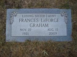 Frances May <i>LeForge</i> Graham