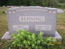 Viola Verdie Louisa <i>Bergman</i> Behning