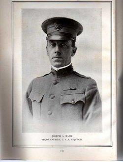 Gen Joseph Adams Baer