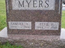 Effie K Myers