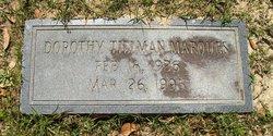 Dorothy <i>Tillman</i> Marques