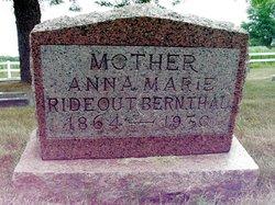Anna Marie <i>Bernthal</i> Rideout
