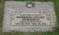 Barbara Louise <i>Mott</i> Ackerly