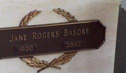 Jane Drake <i>Rogers</i> Basore