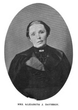 Elizabeth Jane Jennie <i>Jones</i> Davisson