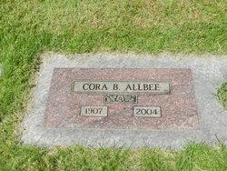 Cora Bernetha <i>Mitchell</i> Allbee