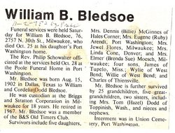 William B. Bledsoe